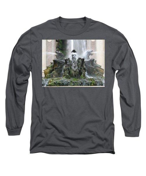 Dragon Fountain Long Sleeve T-Shirt