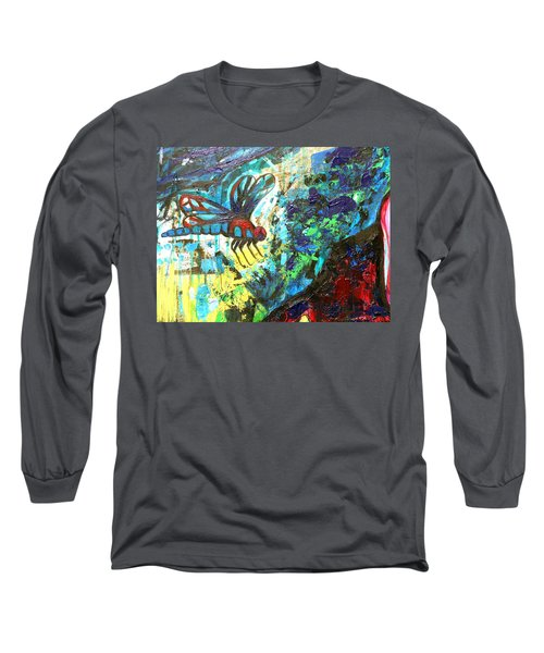 Dragonfly Abstract 1 Long Sleeve T-Shirt