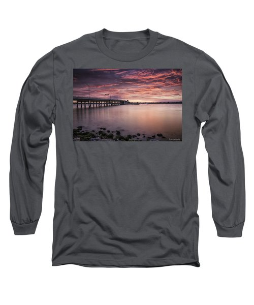 Drawbridge At Dusk Long Sleeve T-Shirt
