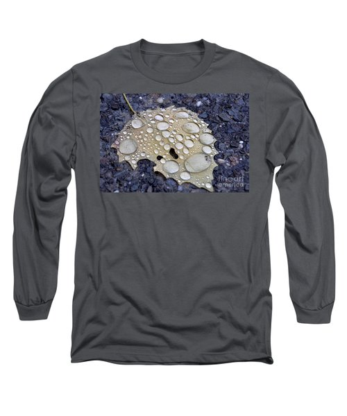Drenched Leaf Long Sleeve T-Shirt