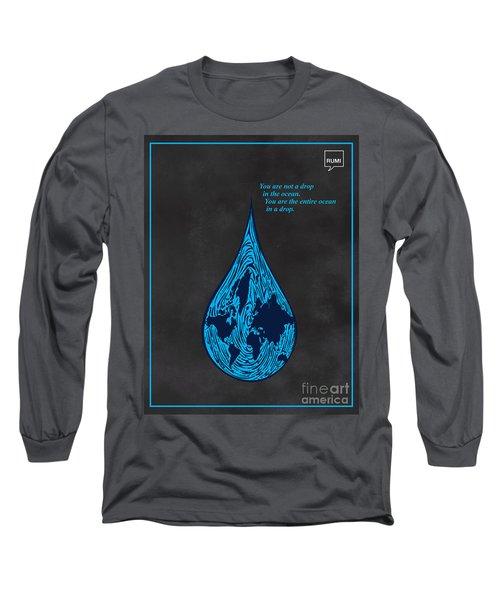 Drop In The Ocean Long Sleeve T-Shirt