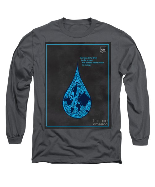 Drop In The Ocean Long Sleeve T-Shirt