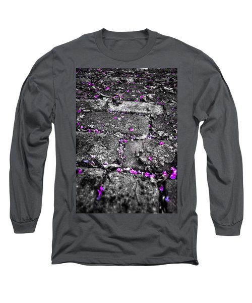 Drops Of Color Long Sleeve T-Shirt
