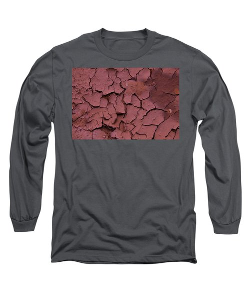 Dry Cracked Earth Long Sleeve T-Shirt