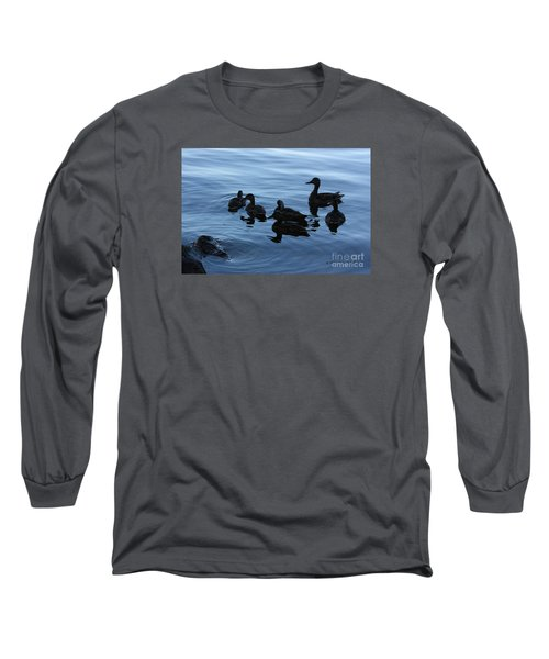 Ducks At Dusk Long Sleeve T-Shirt