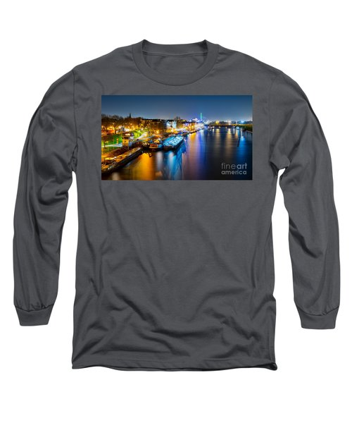 Duisburg Rhine East Bank Dammst Long Sleeve T-Shirt