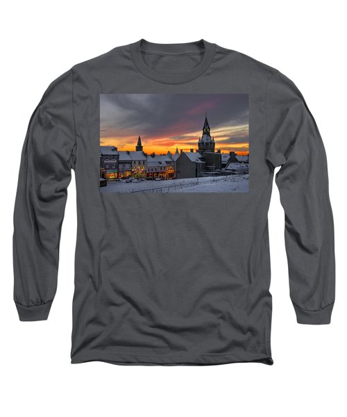Dunfermline Winter Sunset Long Sleeve T-Shirt
