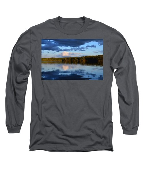 Dusk After A Storm Long Sleeve T-Shirt by David Porteus