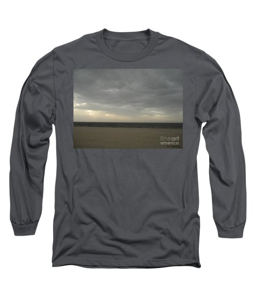 Dusk Beach Walk  Long Sleeve T-Shirt