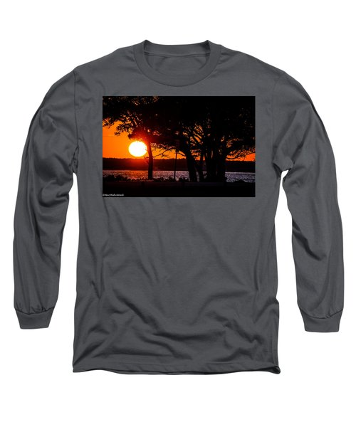 Dusky Cape Fear River  Long Sleeve T-Shirt