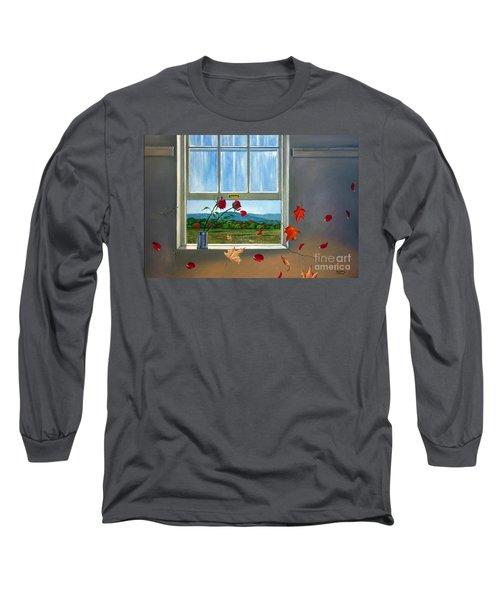 Early Autumn Breeze Long Sleeve T-Shirt