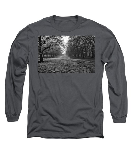 Early Morning In Hyde Park Long Sleeve T-Shirt