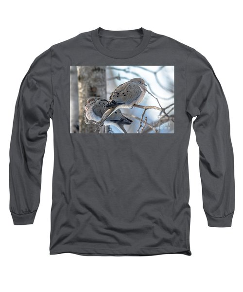 Early Mourning Long Sleeve T-Shirt by Cheryl Baxter