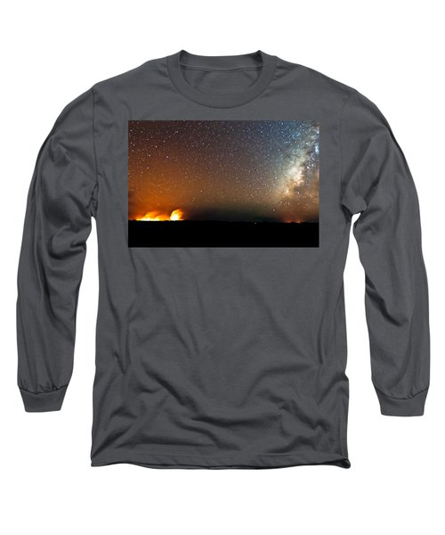 Earth And Cosmos Long Sleeve T-Shirt