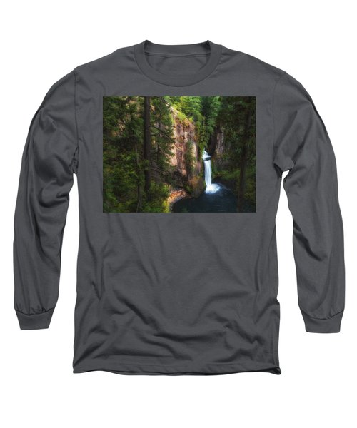 Earthen Tears Long Sleeve T-Shirt by James Heckt