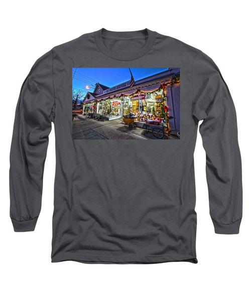 East Moriches Hardware Long Sleeve T-Shirt