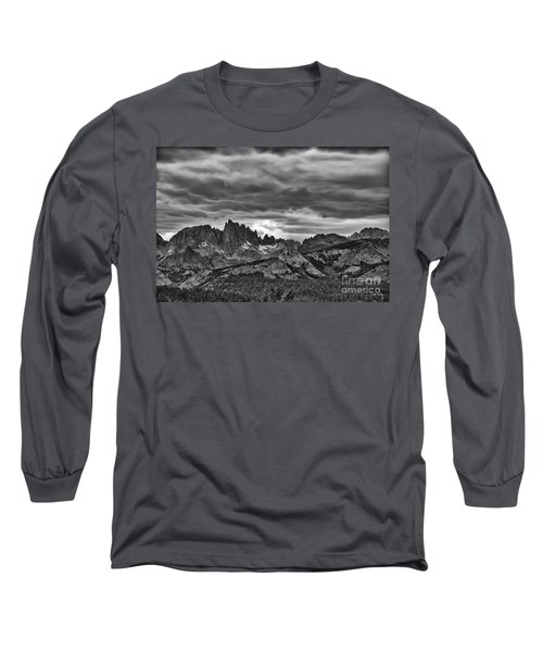 Eastern Sierras Summer Storm Long Sleeve T-Shirt