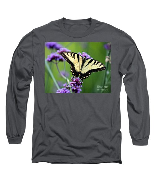 Eastern Tiger Swallowtail Butterfly 2014 Long Sleeve T-Shirt
