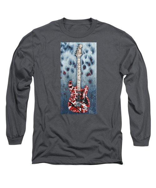 Eddie's Frankenstrat Long Sleeve T-Shirt by Arturo Vilmenay