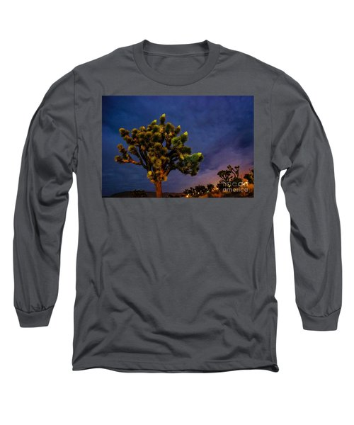 Long Sleeve T-Shirt featuring the photograph Edge Of Town by Angela J Wright