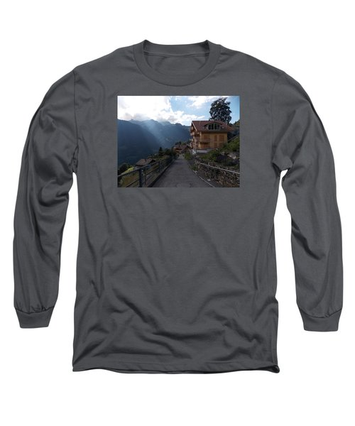 Edge Of Wengen Long Sleeve T-Shirt