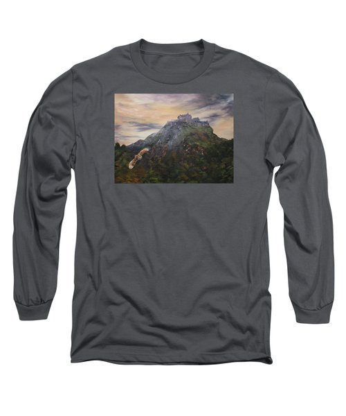 Edinburgh Castle Scotland Long Sleeve T-Shirt