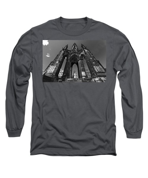 Edinburgh's Scott Monument Long Sleeve T-Shirt