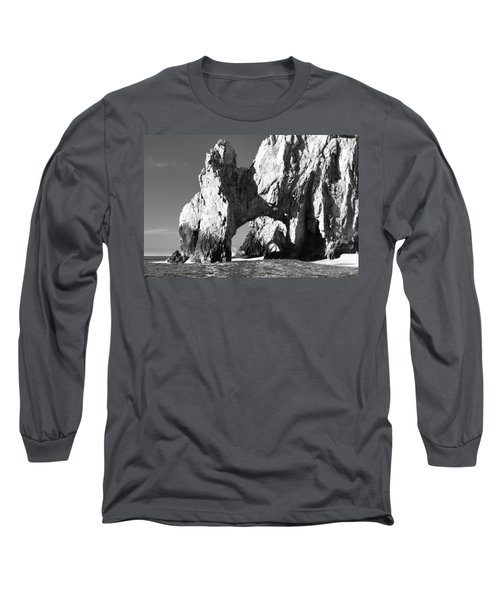 El Arco In Black And White Long Sleeve T-Shirt