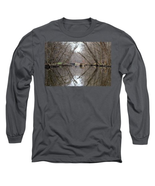 Eldon's Reflection Long Sleeve T-Shirt by Bruce Patrick Smith