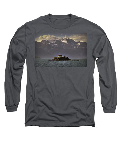 Eldred Rock Lighthouse Alaska Long Sleeve T-Shirt
