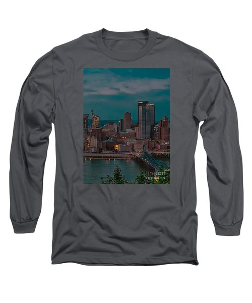 Electric Steel City Long Sleeve T-Shirt