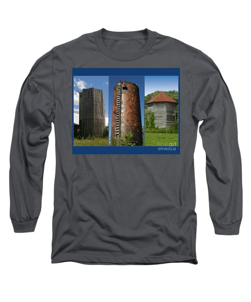 Elegy To Family Farms Long Sleeve T-Shirt by Carol Lynn Coronios