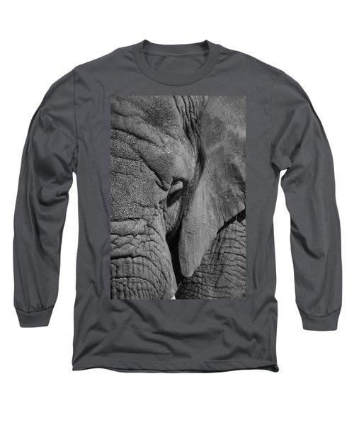 Elephant Bw Long Sleeve T-Shirt