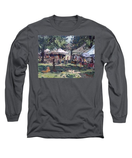 Elmwood-bidwell Farmers Market Long Sleeve T-Shirt