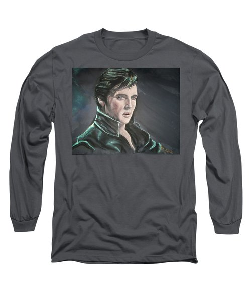 Elvis Long Sleeve T-Shirt by Peter Suhocke