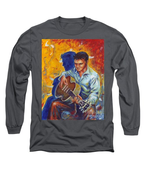 Elvis Presley Long Sleeve T-Shirt by Samantha Geernaert