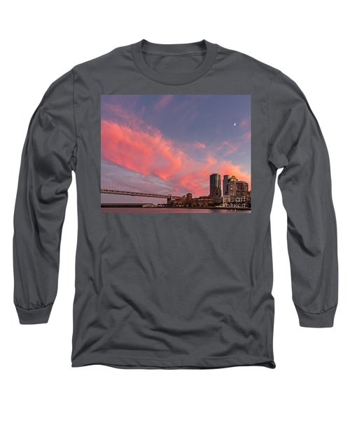 Long Sleeve T-Shirt featuring the photograph Embarcadero Sunset by Kate Brown