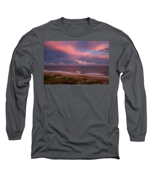 Emerald Isle Sunset Long Sleeve T-Shirt