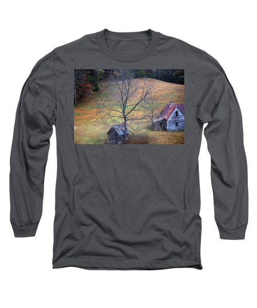 Long Sleeve T-Shirt featuring the photograph Empty Nest by Faith Williams