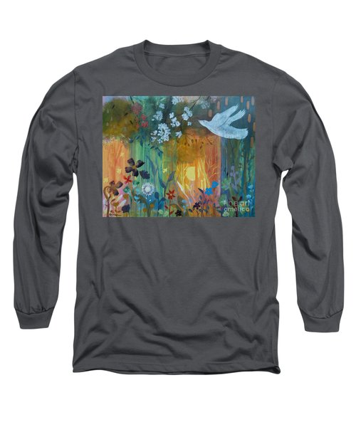Long Sleeve T-Shirt featuring the painting Encantador by Robin Maria Pedrero