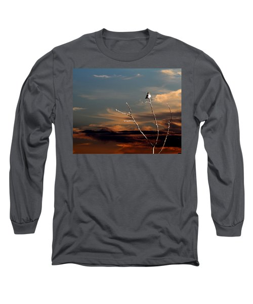 Long Sleeve T-Shirt featuring the photograph End Of The Day by John Freidenberg