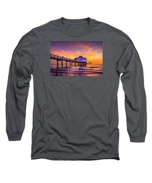 End Of The Day Long Sleeve T-Shirt by Marvin Spates