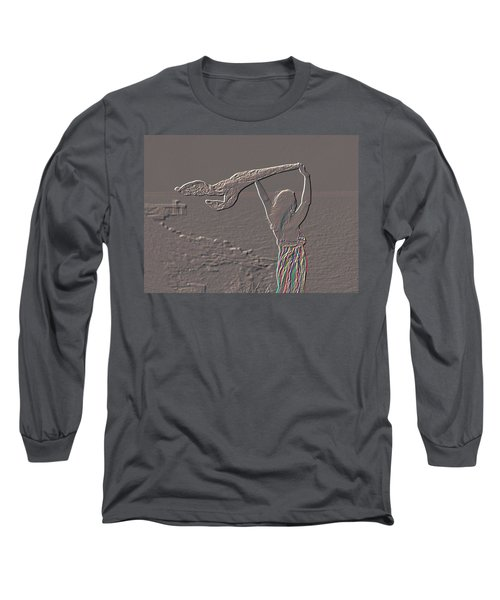 Enjoying The Ocean Breeze Long Sleeve T-Shirt