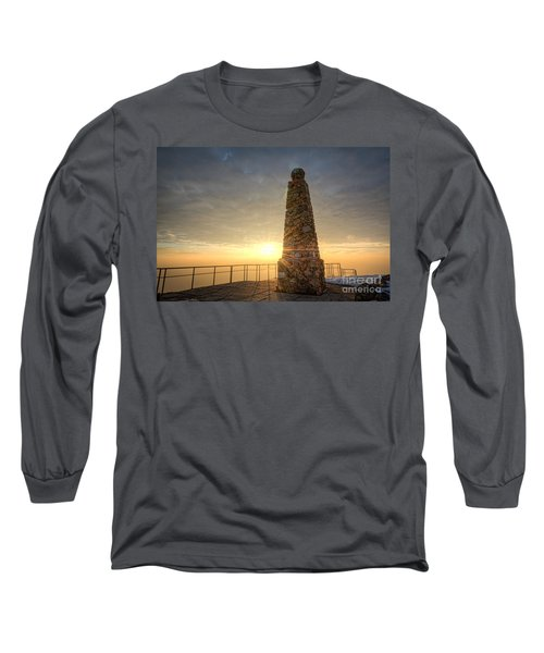 Ensign Peak Nature Park Utah Long Sleeve T-Shirt