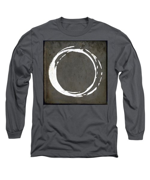 Enso No. 107 Gray Brown Long Sleeve T-Shirt