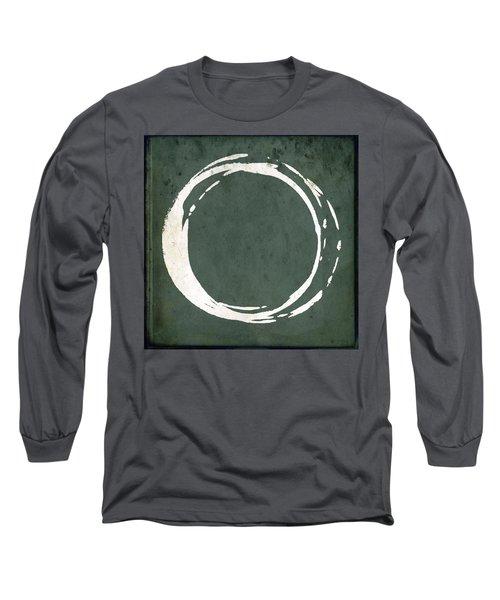 Enso No. 107 Green Long Sleeve T-Shirt