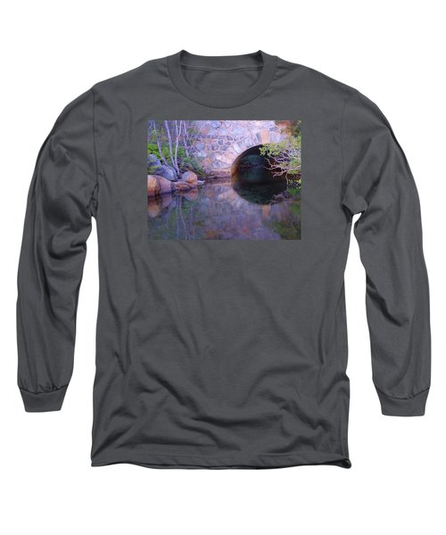 Enter The Tunnel Of Love  Long Sleeve T-Shirt by Sean Sarsfield