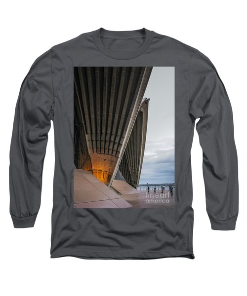Entrance To Opera House In Sydney Long Sleeve T-Shirt