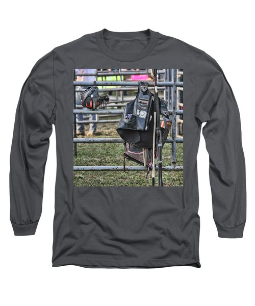 Long Sleeve T-Shirt featuring the photograph Equipment by Denise Romano