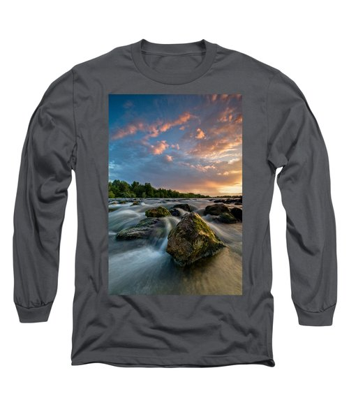 Eriador Long Sleeve T-Shirt by Davorin Mance